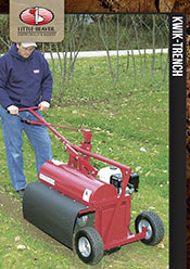 Little Beaver Kwik Trench Mini Trencher
