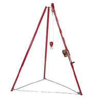 Little Beaver Auger Drill tripod kit